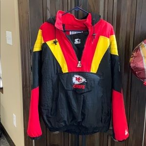 Vintage NFL Chief's authentic starter jacket.